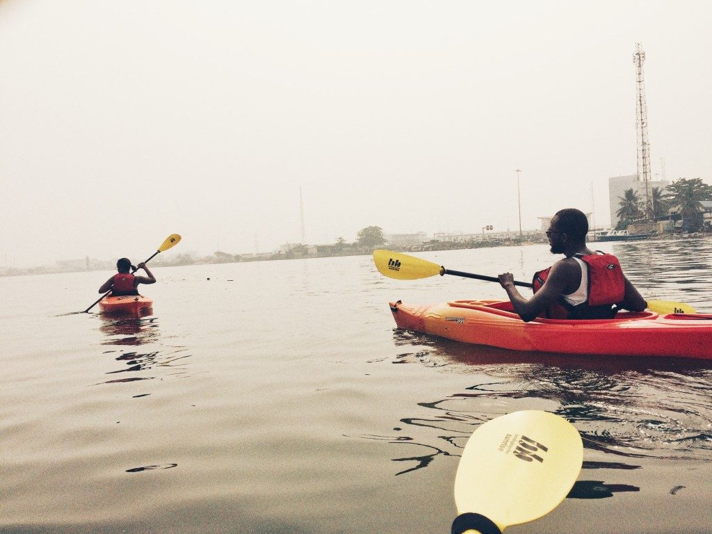 Places to Kayak in Lagos,Nigeria