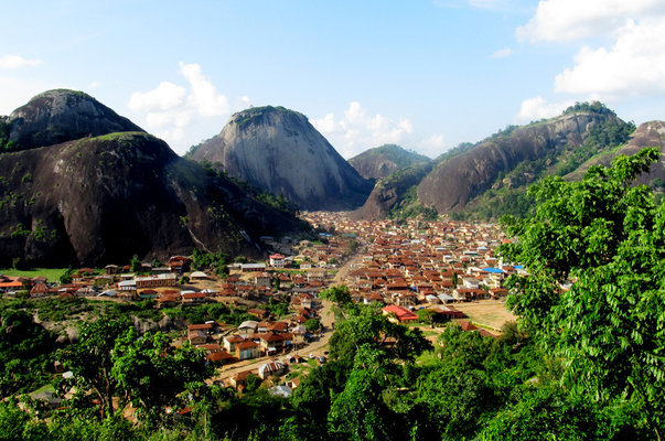 idanre hills and its environs
