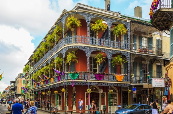 building in the french quarters in New orleans