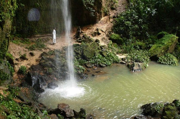 Ogba Ukwu caves and waterfall