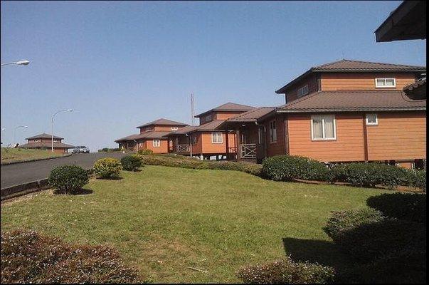 side view of Obudu mountain resort