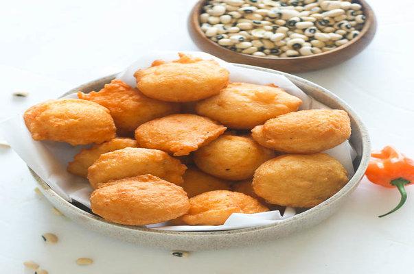 Nigerian snack food akara