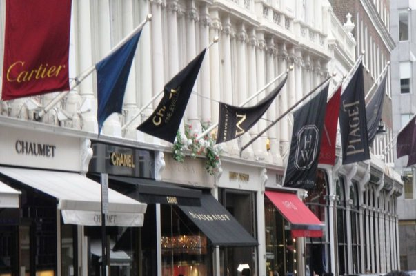 luxurious shopping destinations in london