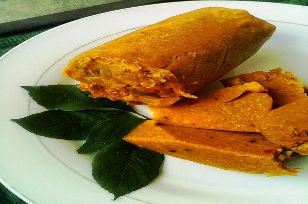 Nigerian snack food okpa