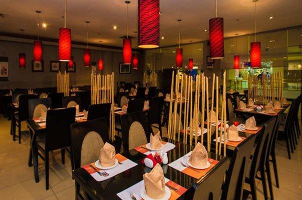 Woks and koi chinese restaurant