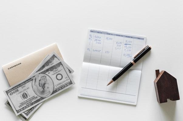 Cash book money pen
