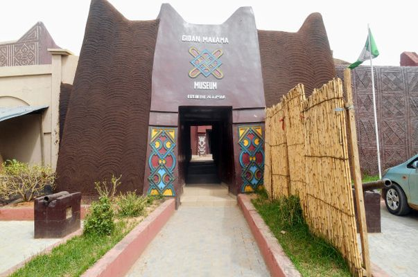 Entrance to Gidan Makam Museum