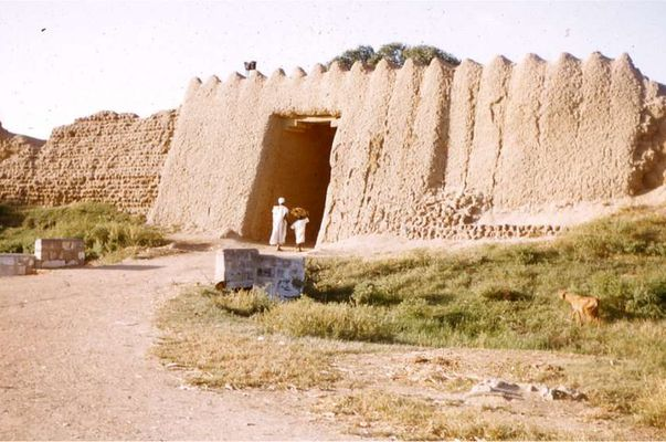 A section of the great kano wall