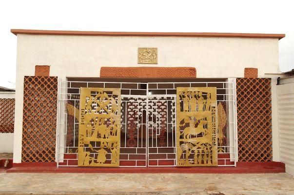 oba of Benin's palace