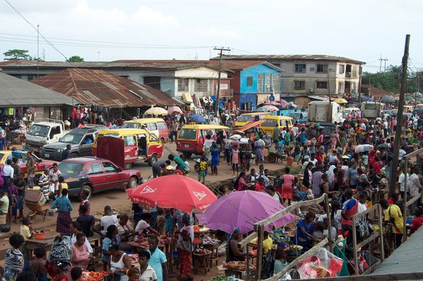 benin local market