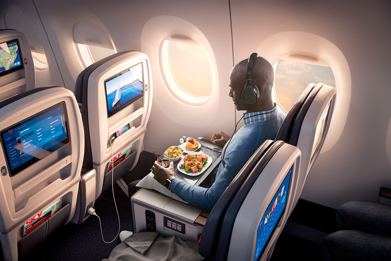 What you eat and drink in-flight can help you beat jet lag