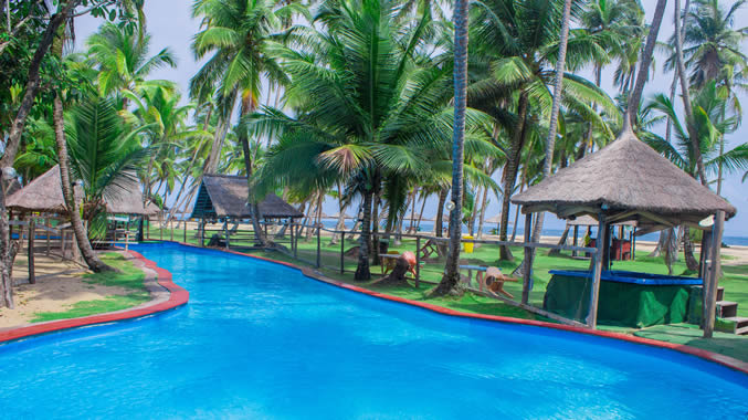 La campagne Tropicana Beach resort Ibeju Lekki