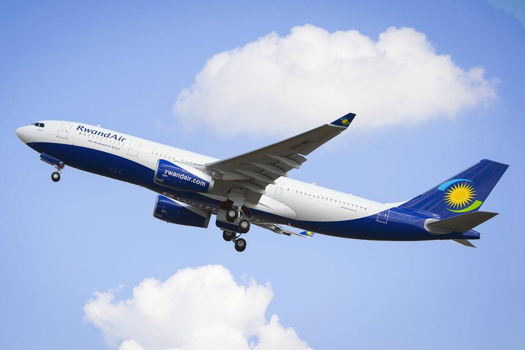 Rwanda Air destinations across the world