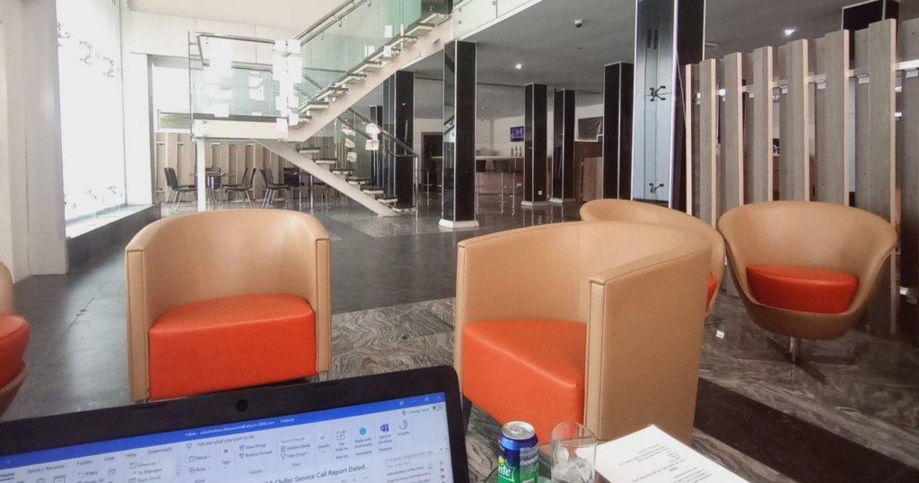 Lagos Murtala Muhammed Airport Lounge - Gabfol
