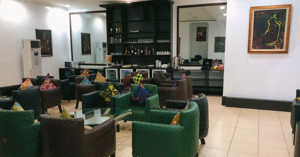 Lagos Murtala Muhammed Airport Lounge - Llegada Arrival Lounge
