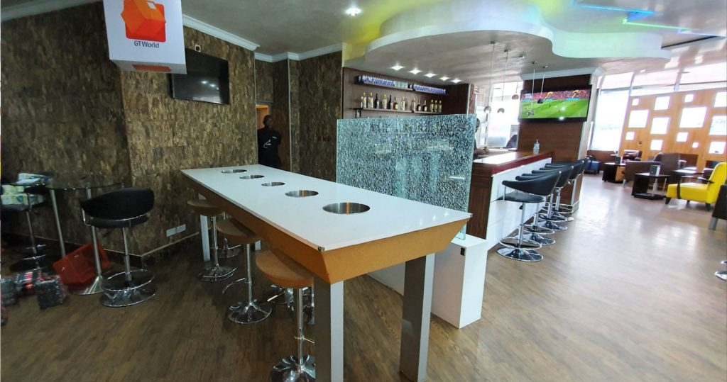 The Oasis Lounge - One of the Lagos Murtala Muhammed Airport Lounges