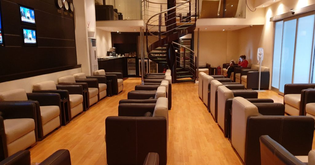Lagos Murtala Muhammed Airport Lounge - Skyway Premium Lounge