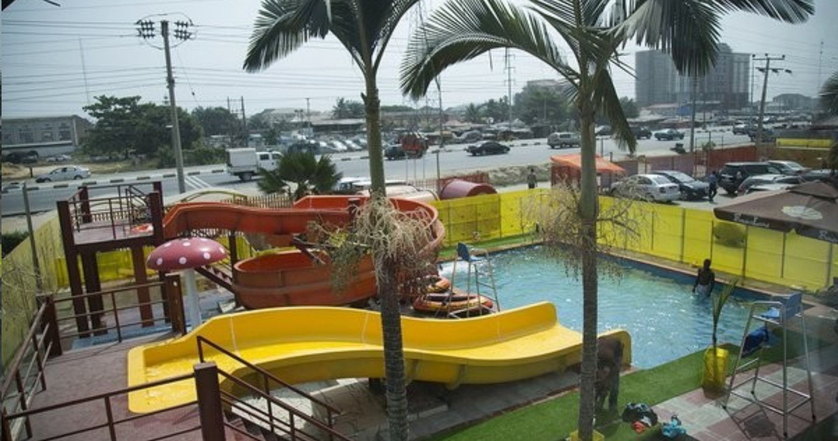 Lagos water park: Funderland Mall