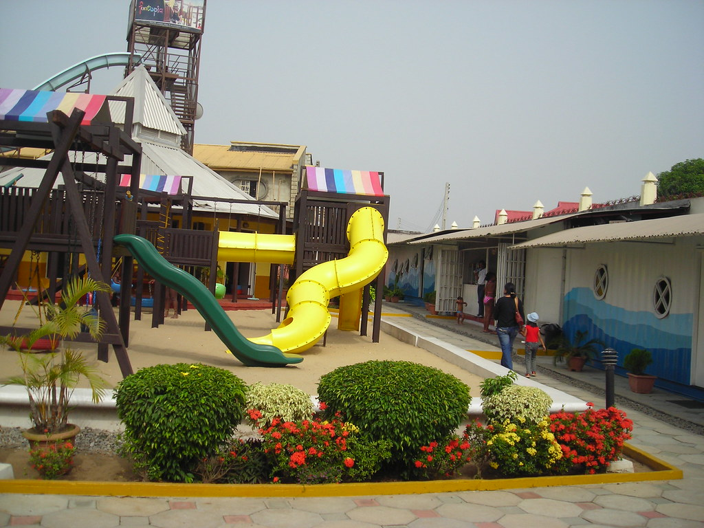 Funtopia water park in Lagos