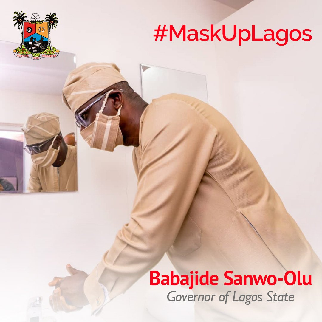 Lagos Government Mask-up campaign