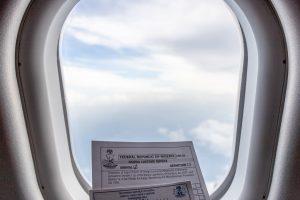 nigeria international flight