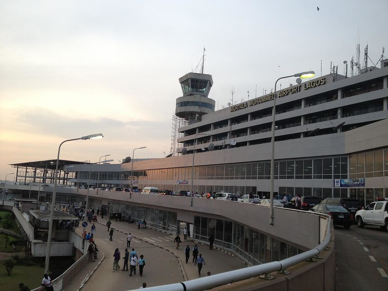 international flight resumption in nigeria - Lagos airport